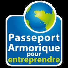 Logo passeport armorique pour entreprendre
